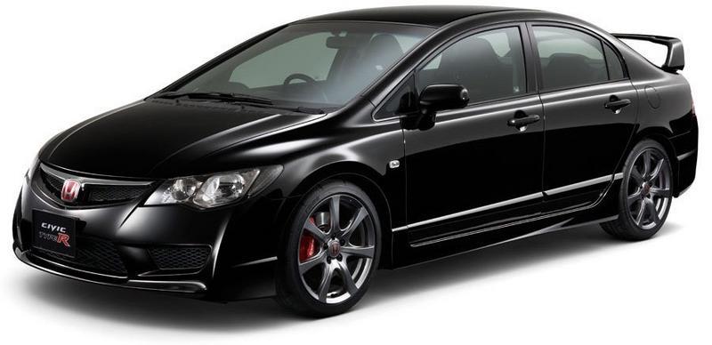 Хонда цивик черная фото