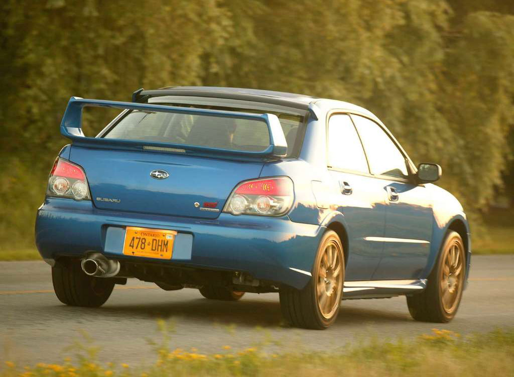 Фотогалерея Subaru Impreza WRX /…