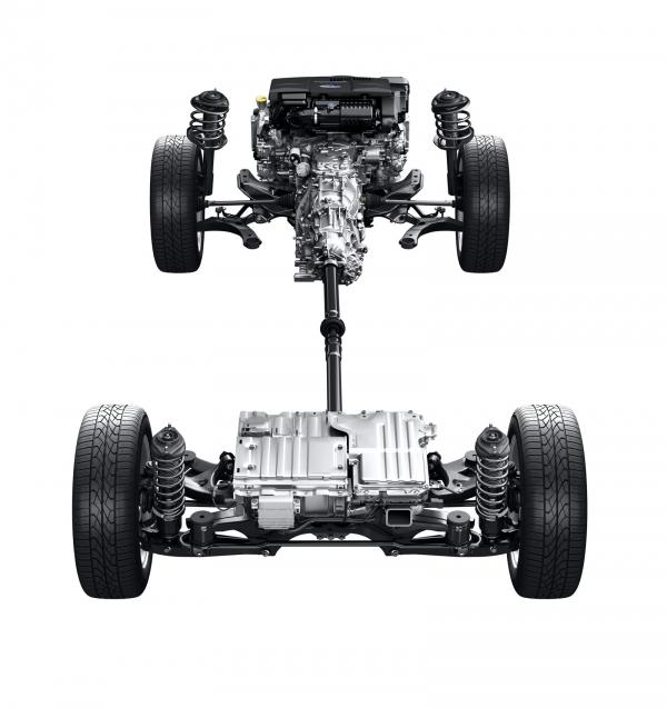 Subaru XV Hybrid.