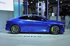 Subaru WRX Concept на автосалоне в Нью-Йорке в 2013 году