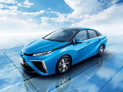 Toyota Mirai в модификации для рынка Японии