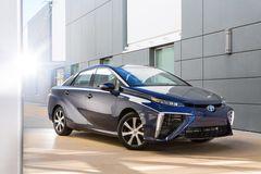 Toyota Mirai в модификации для рынка США