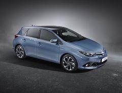 Обновленная Toyota Auris