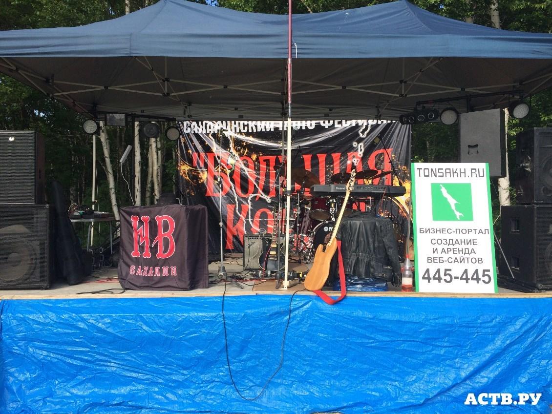 Мероприятия: На Сахалине состоялся мото-фестиваль «Большая кочка — 2015»