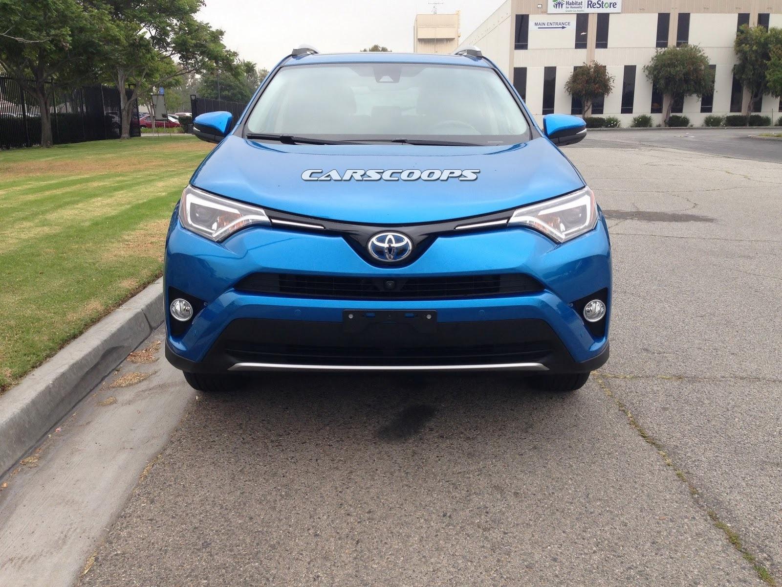 Toyota rav4 дизайн