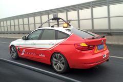 Беспилотник на базе BMW 3-Series GT от Baidu