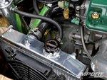 Вентилятор для охлаждения радиатора в Honda Civic