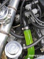 Трубка с охлаждающей жидкостью Honda Civic