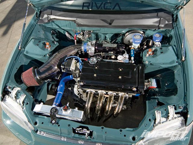 Хонда цивик фото двигателя