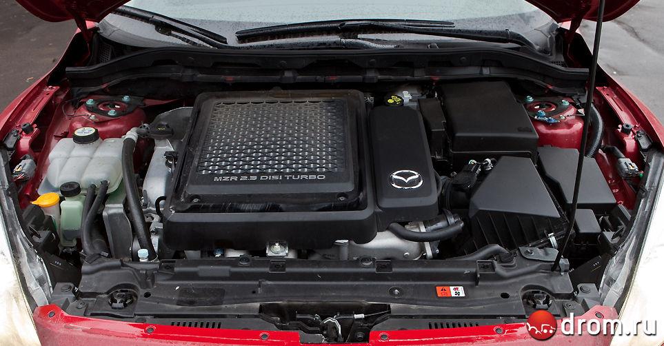 Двигатель для mazda 3 mps 147