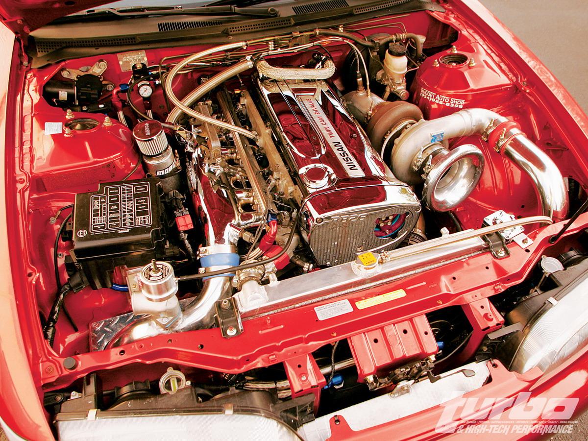 установка двигателя nissan rb26dett в 240sx