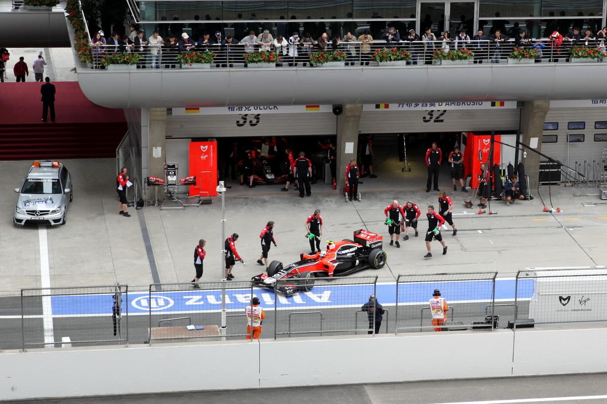 Формула 1 гран при сингапура 2011 гонка 10 фотография