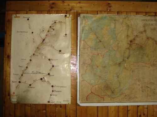 Карта зимника Иркутской