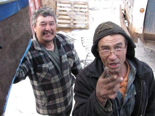Погрузка в Усть-Куте: