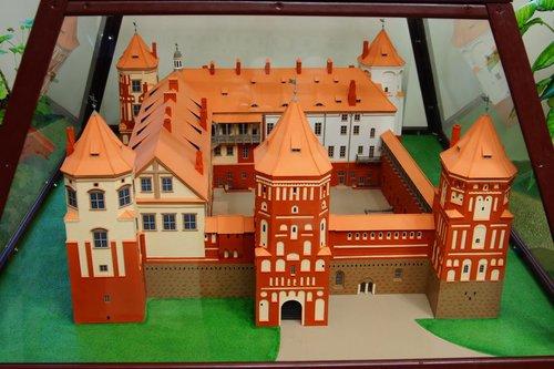 картинки макета замка