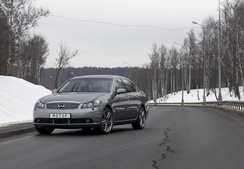 Сравнение автомобилей volvo s80 и infiniti m45