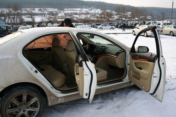 отзыв владельца.  Acura TSX 2004.
