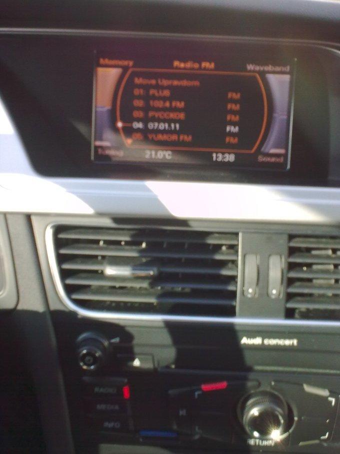 Audi A4 allroad quattro.