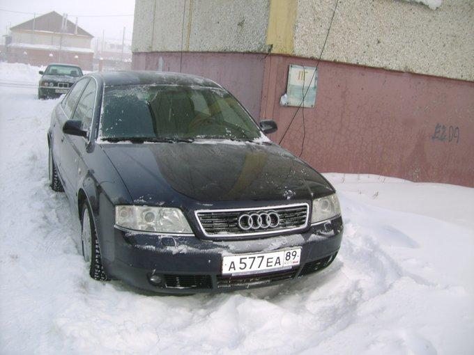 Audi A6.