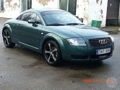 Audi TT 2000 - отзыв владельца