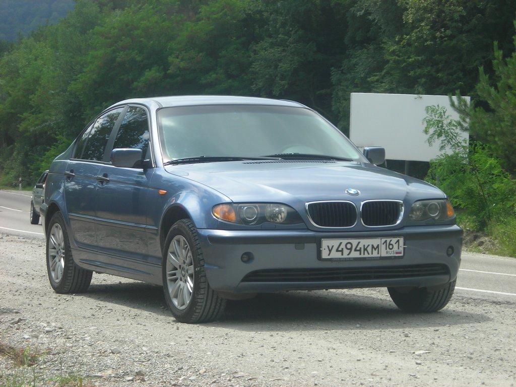 bmw 320 d 2003 отзывы