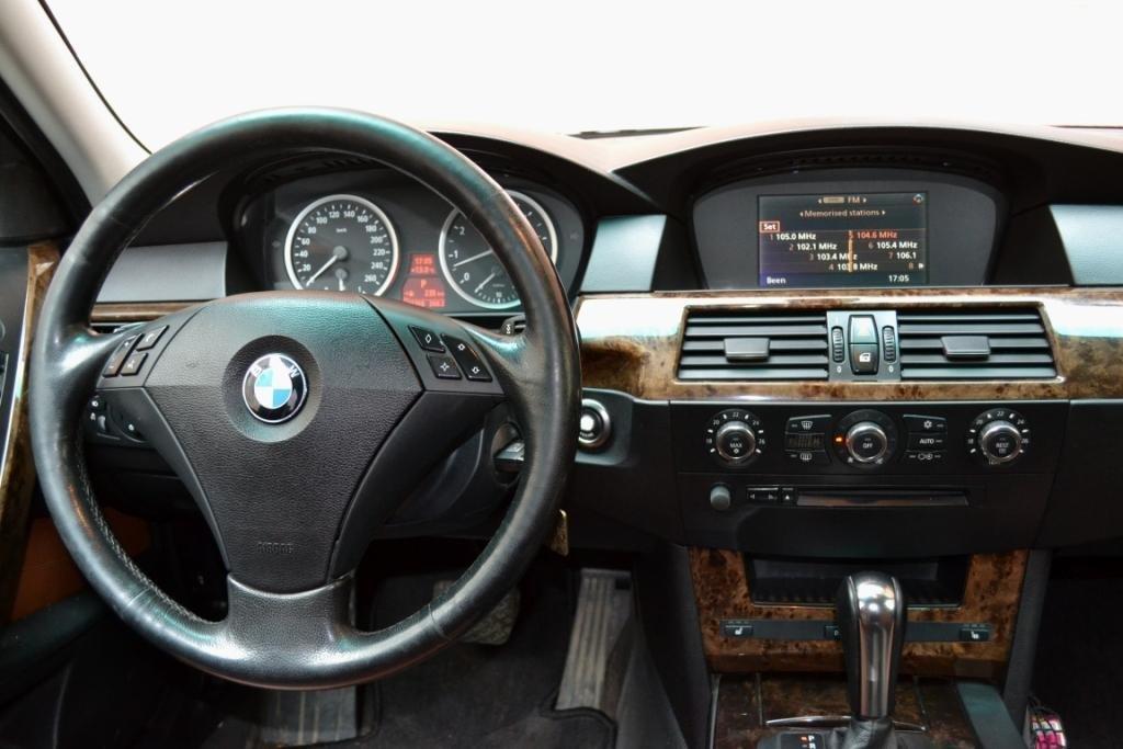BMW 5-Series 2006, бензин, 2500 куб.см, N52B25, 218л/с - отзыв ...