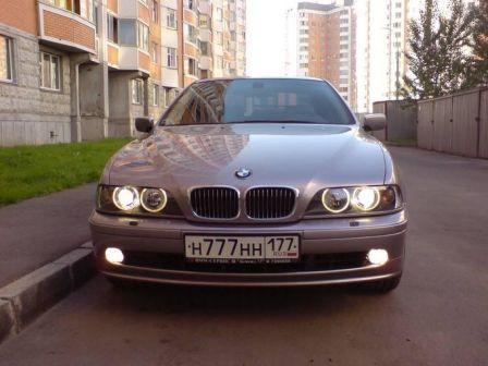 BMW 5-Series 1999 - отзыв владельца