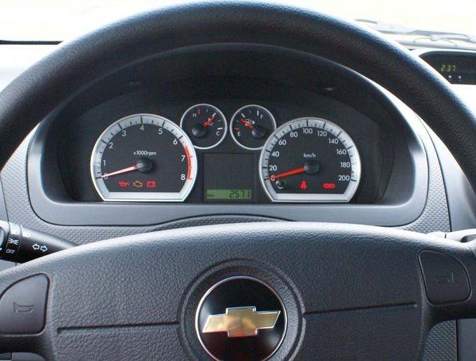 Chevrolet Aveo.