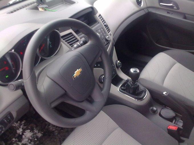 Chevrolet Cruze.