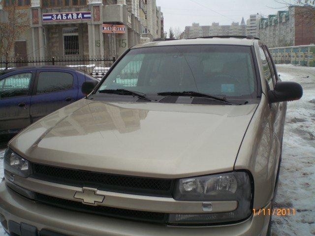 Chevrolet TrailBlazer.