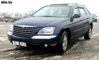 Chrysler Pacifica 2004 - отзыв владельца