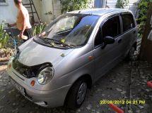 Daewoo Matiz 2012 отзыв владельца | Дата публикации: 05.10.2012