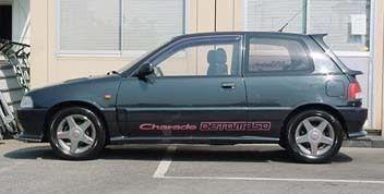 Daihatsu Charade 1993 - отзыв владельца