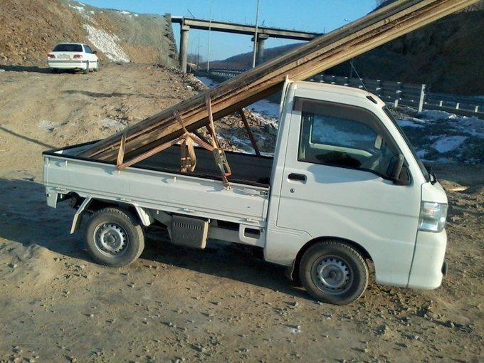 Daihatsu Hijet Truck.