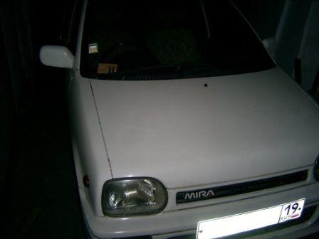 Daihatsu Mira 1991 - отзыв владельца