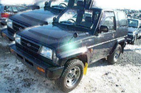 Daihatsu Rocky 1996 - отзыв владельца