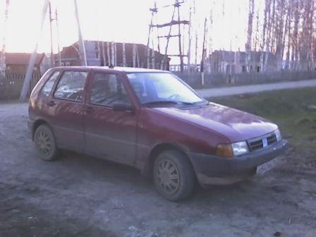 Fiat Uno 1998 - отзыв владельца