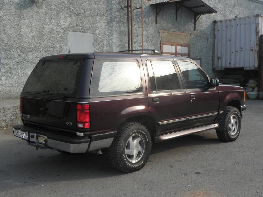 ford explorer 4/3 1993 отзывы