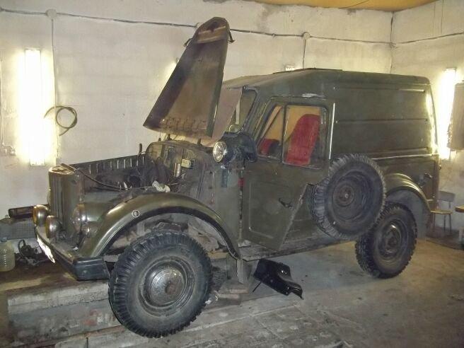 ГАЗ 69.