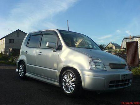 Honda Capa 2001 - отзыв владельца