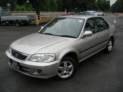 Honda City 1999 - отзыв владельца
