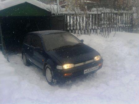 Honda City 1988 - отзыв владельца