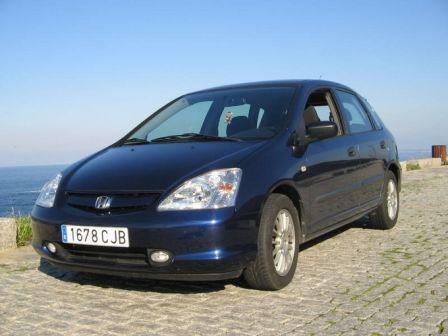 Honda Civic 2003 - отзыв владельца