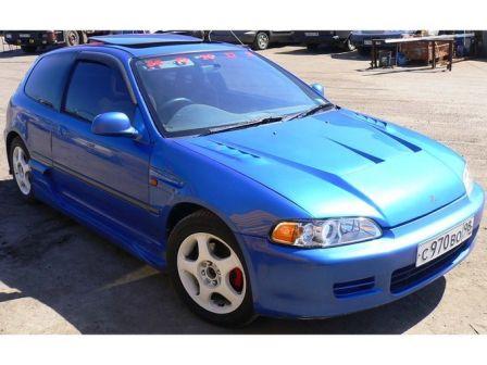 Honda Civic 1995 - отзыв владельца