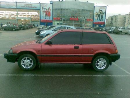Honda Civic 1986 - отзыв владельца