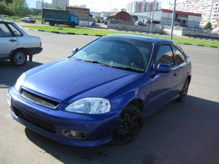 Honda Civic 1999 - отзыв владельца