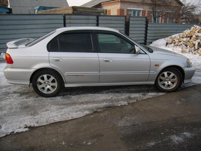 honda civic 1998 100км сек