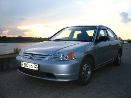 Honda Civic Ferio 2002 - отзыв владельца