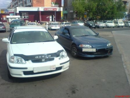 Honda Civic Ferio 1997 - отзыв владельца