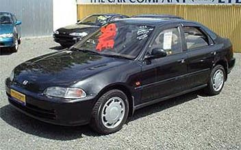 Honda Civic Ferio 1993 - отзыв владельца